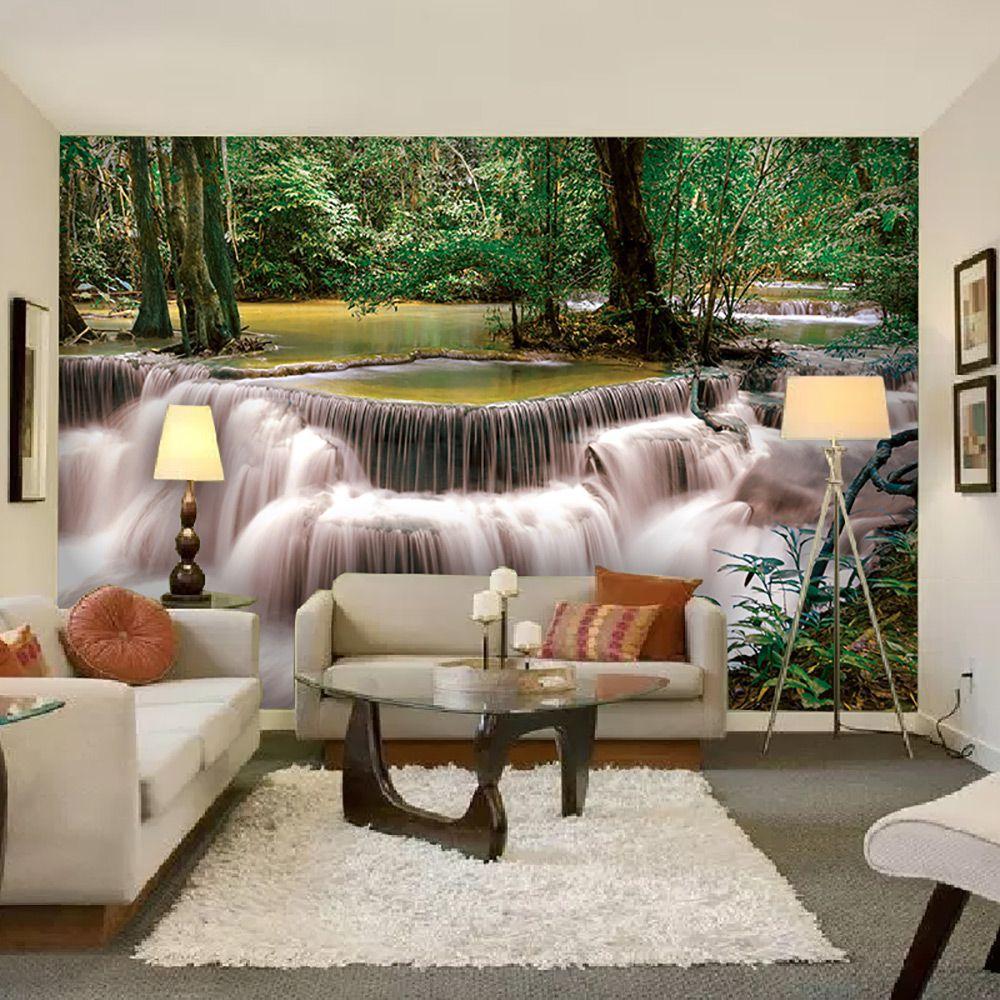 Painel Adesivo Fotográfico Parede Cachoeira 7,2m² M11