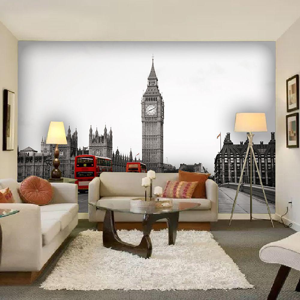 Painel Adesivo Fotográfico Parede Cidades Países 7,2m² M12