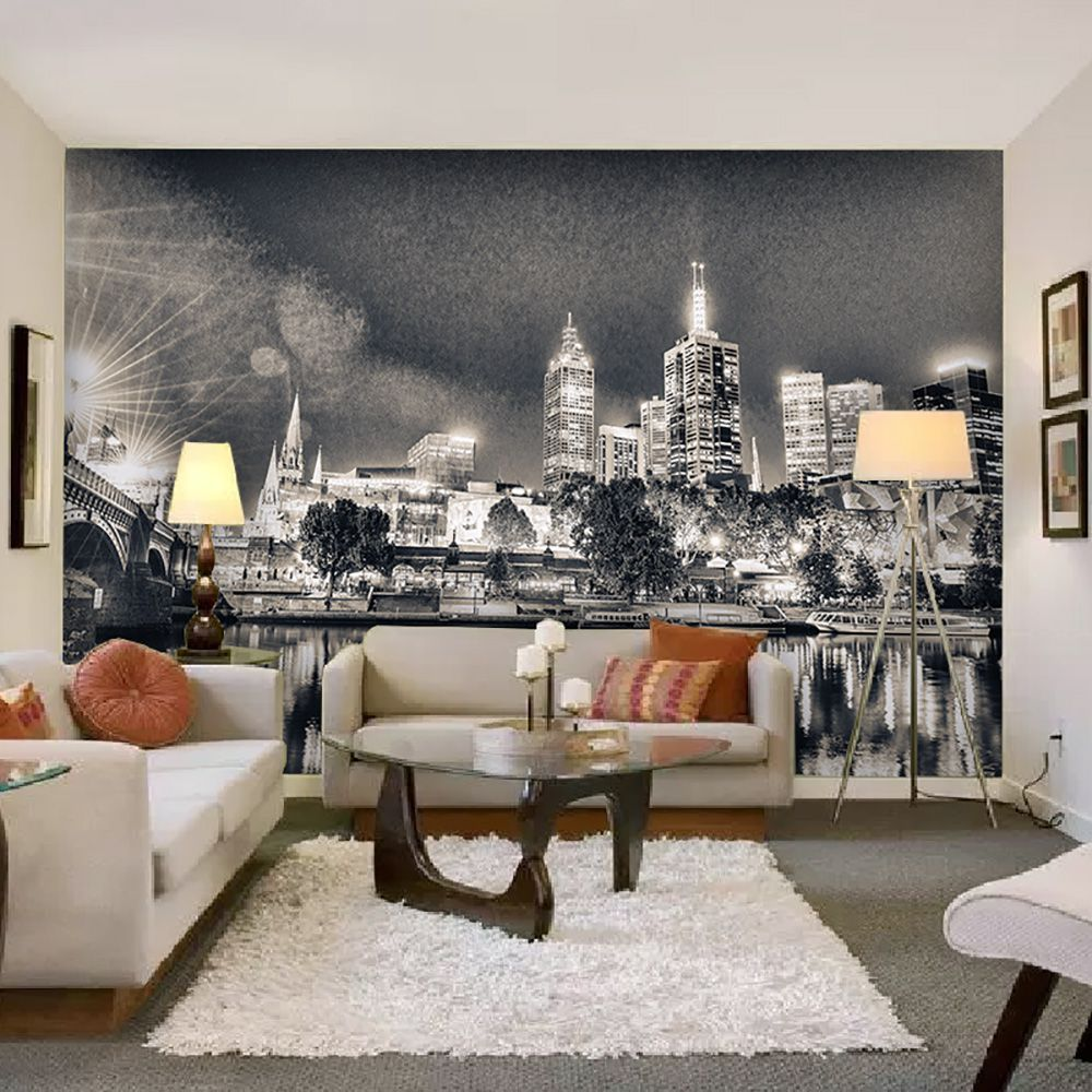 Painel Adesivo Fotográfico Parede Cidades Países 7,2m² M13