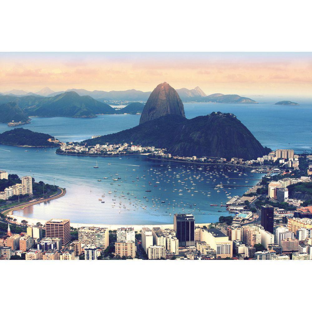 Painel Adesivo Fotográfico Parede Cidades Países 7,2m² M1