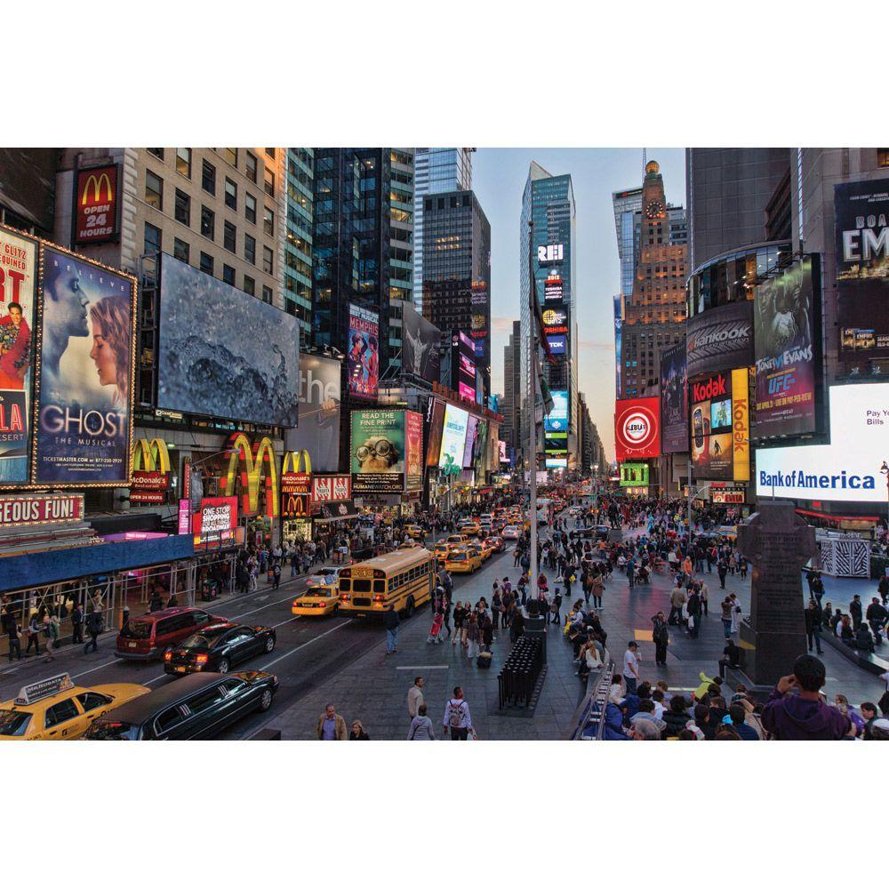 Painel Adesivo Fotográfico Parede Cidades Países 7,2m² M3