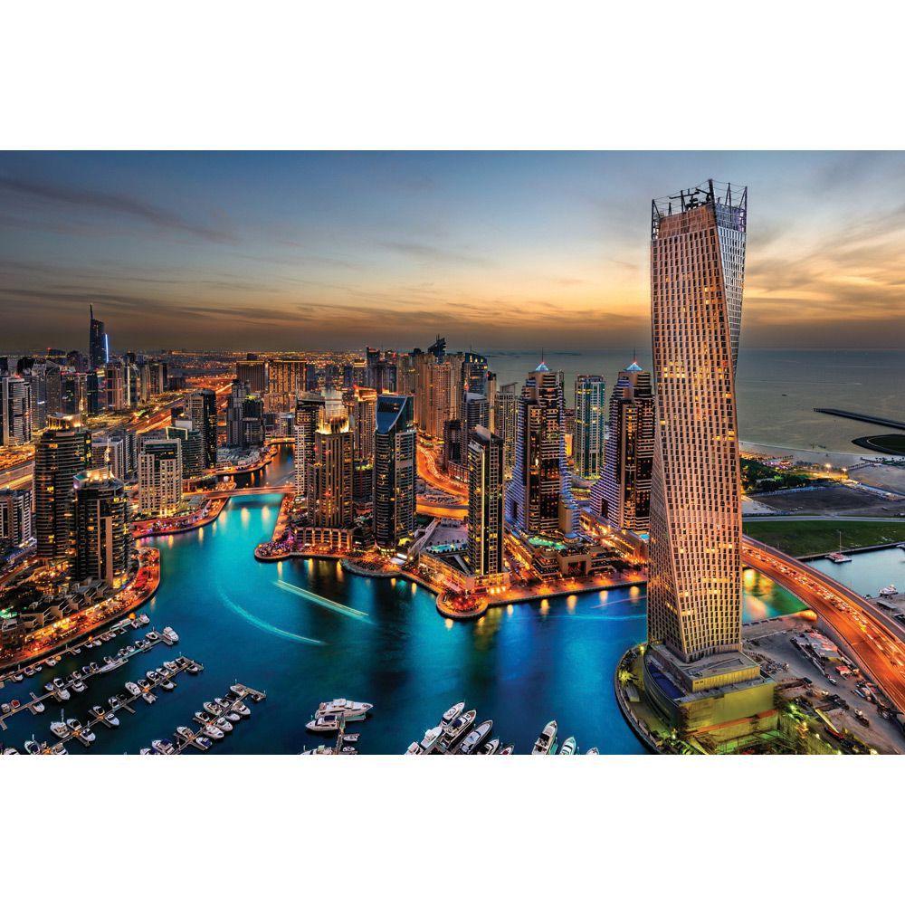 Painel Adesivo Fotográfico Parede Cidades Países 7,2m² M4