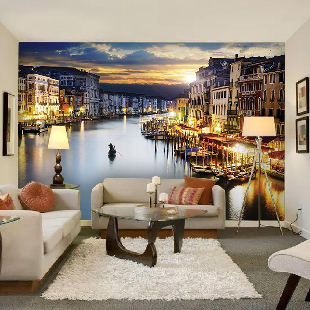 Painel Adesivo Fotográfico Parede Cidades Países 7,2m² M6