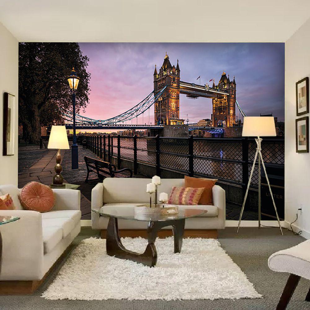 Painel Adesivo Fotográfico Parede Cidades Países 7,2m² M7