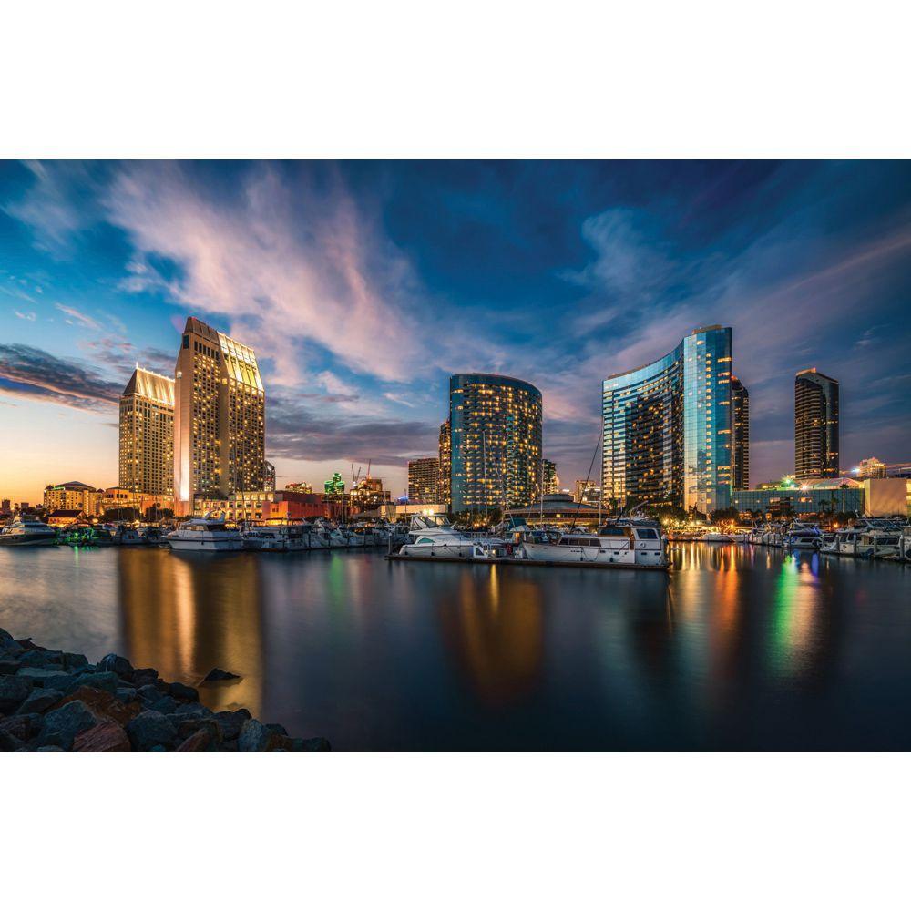 Painel Adesivo Fotográfico Parede Cidades Países 7,2m² M8