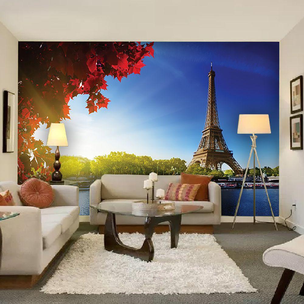Painel Adesivo Fotográfico Parede Cidades Países 7,2m² M9
