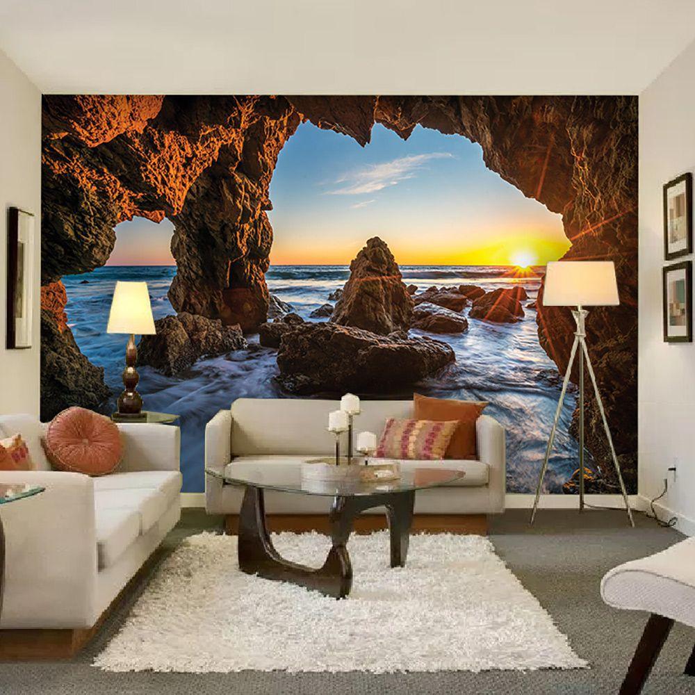 Painel Adesivo Fotográfico Parede Paisagem 7,2m² M4