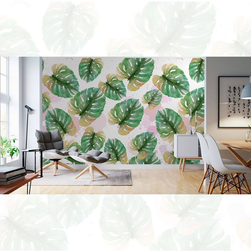 Painel Adesivo Papel Parede Flores Florais Natureza Gigantes- Ref PFG01