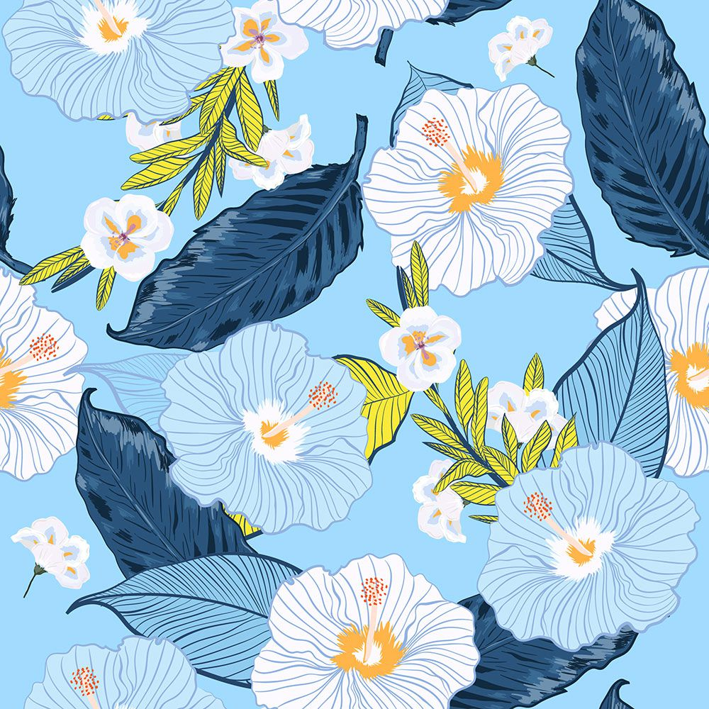 Painel Adesivo Papel Parede Flores Florais Natureza Gigantes- Ref PFG05