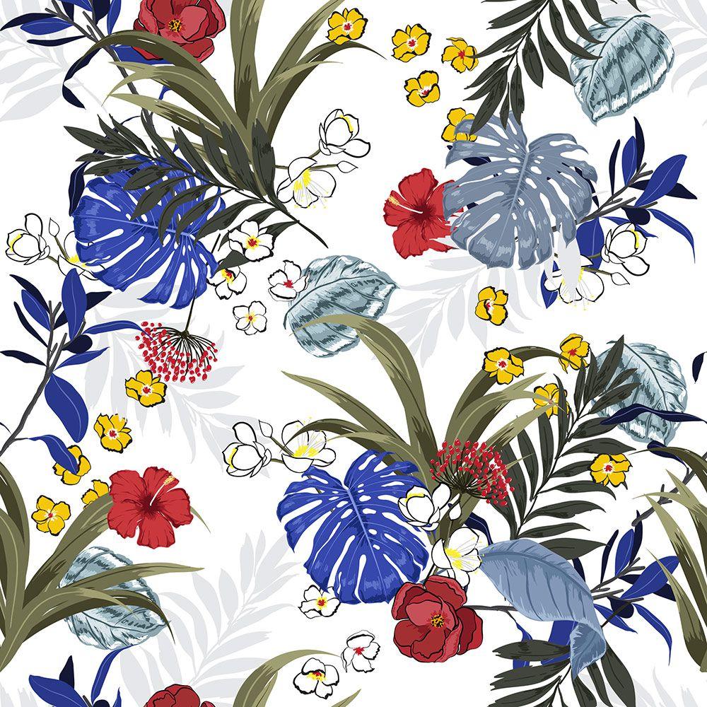 Painel Adesivo Papel Parede Flores Florais Natureza Gigantes- Ref PFG09