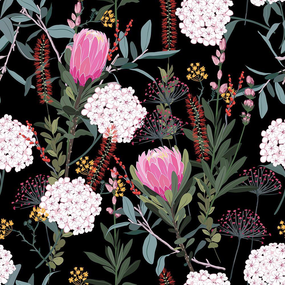 Painel Adesivo Papel Parede Flores Florais Natureza Gigantes- Ref PFG10