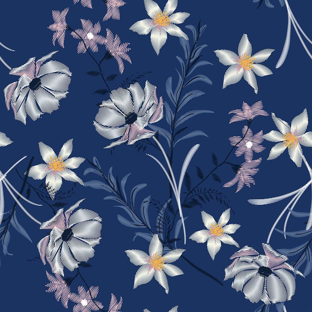 Painel Adesivo Papel Parede Flores Florais Natureza Gigantes- Ref PFG13