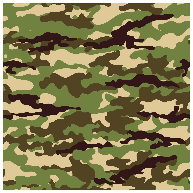 Papel De Parede Adesivo Decorativo Camuflado Camuflagem M1