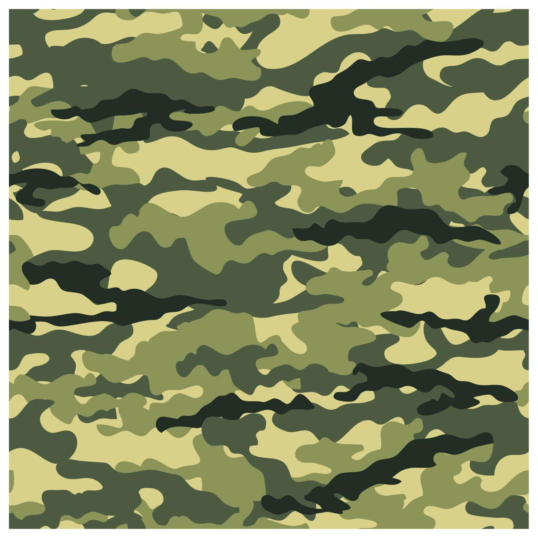 Papel De Parede Adesivo Decorativo Camuflado Camuflagem M3