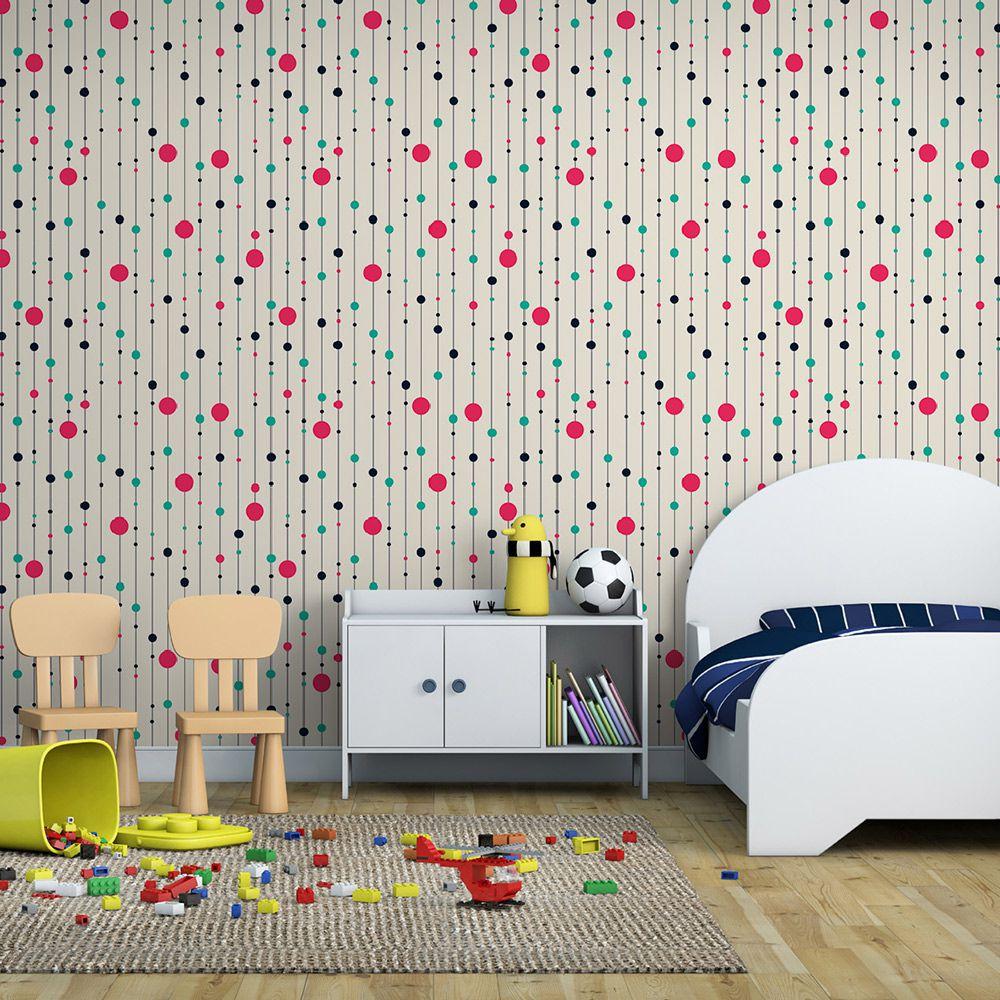 Papel De Parede Adesivo Infantil Quarto Sala INF01