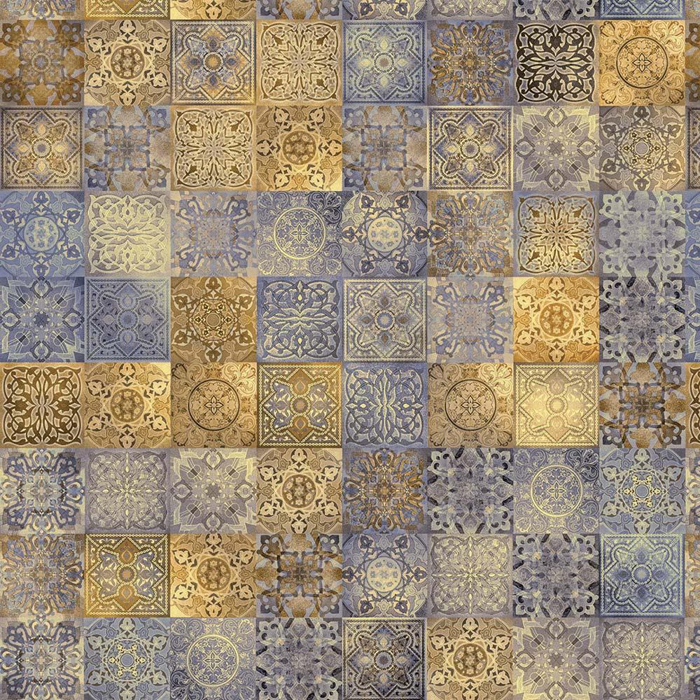 Papel De Parede Para Cozinha Azulejo Português Lavável Mod45