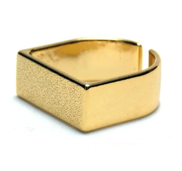 Anel Essencial Dourado