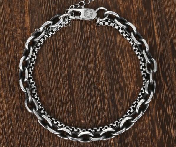 Bracelete Masculino Aço Inox