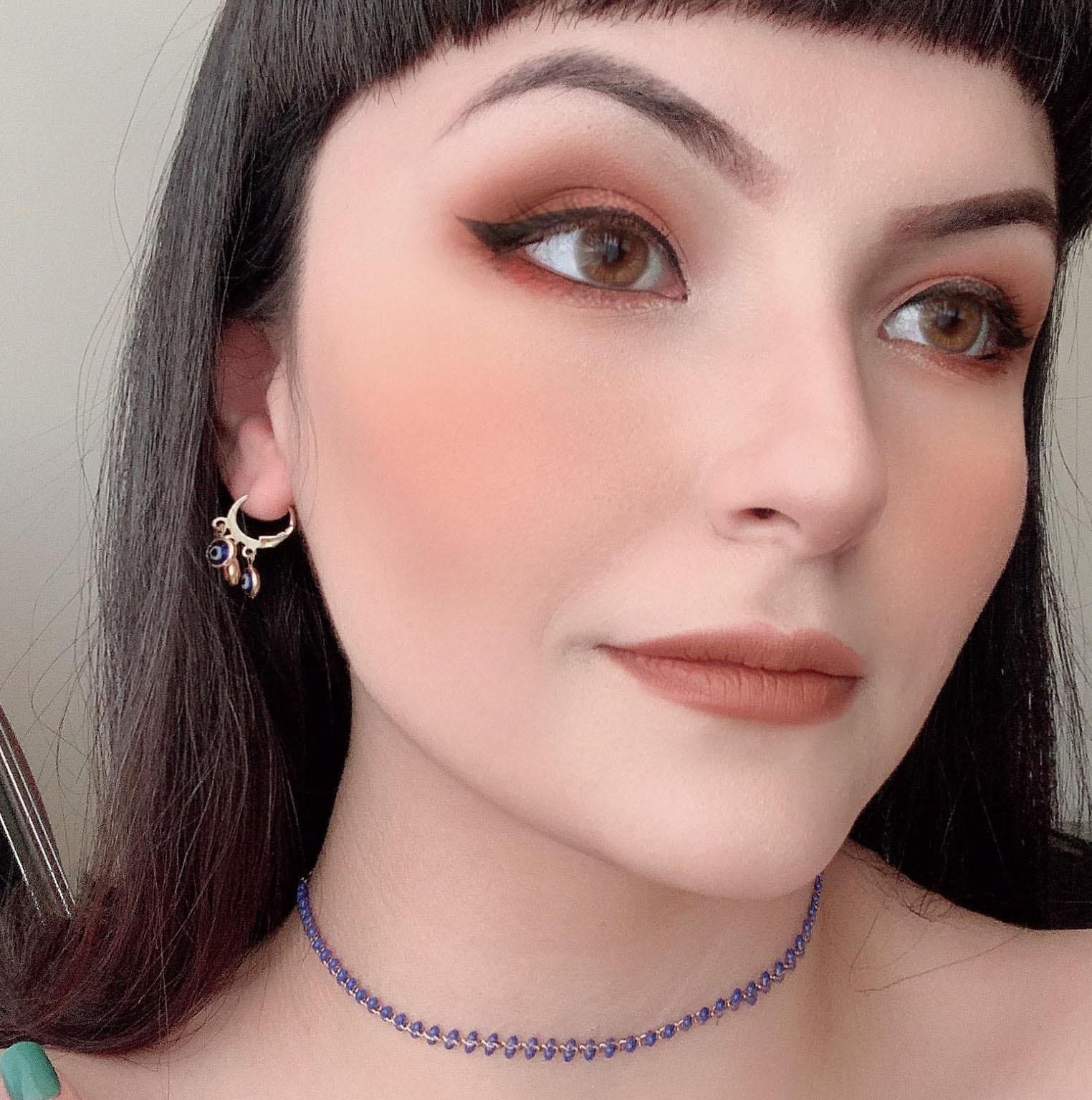 Mini Argola Olho Grego