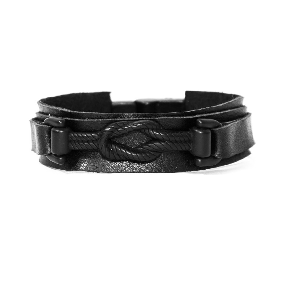 Pulseira Nó - Black Edition