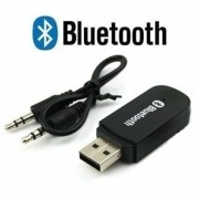 Adaptador Receptor De Sinal Bluetooth Usb P2 Som Pc Auxiliar