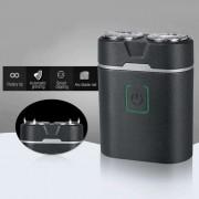 Barbeador Elétrico Prova D'água Barbear USB Recarregável