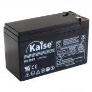 Bateria 12v 7Ah Kaise P/ Alarme Cerca e Nobreak