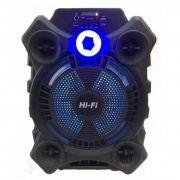 Caixa De Som Bluetooth C/ Bateria 2.400mah 3 Horas 8