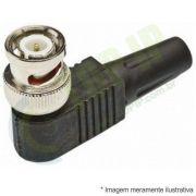 Conector BNC 90° - 5 unidades JPX