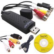 Placa De Captura de Vídeo USB Easier Cap USB 2.0