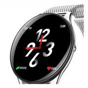 Relógio Inteligente Smartwatch Sn58 Pulseira Aço Tela Hd