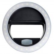 Luz De Selfie Ring Light Anel Led Flash Celular Tablet