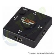 Switch HDMI 1 Entrada 3 Saidas