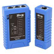 Testador De Cabos de Redes e Telefonia C/ Poe Rj11/Rj45 2Flex