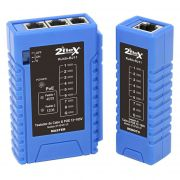 Testador De Cabos de Redes e Telefonia Utp/Rj45/Rj11 2Flex