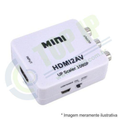 Adaptador HDMI x RCA HDMI2AV