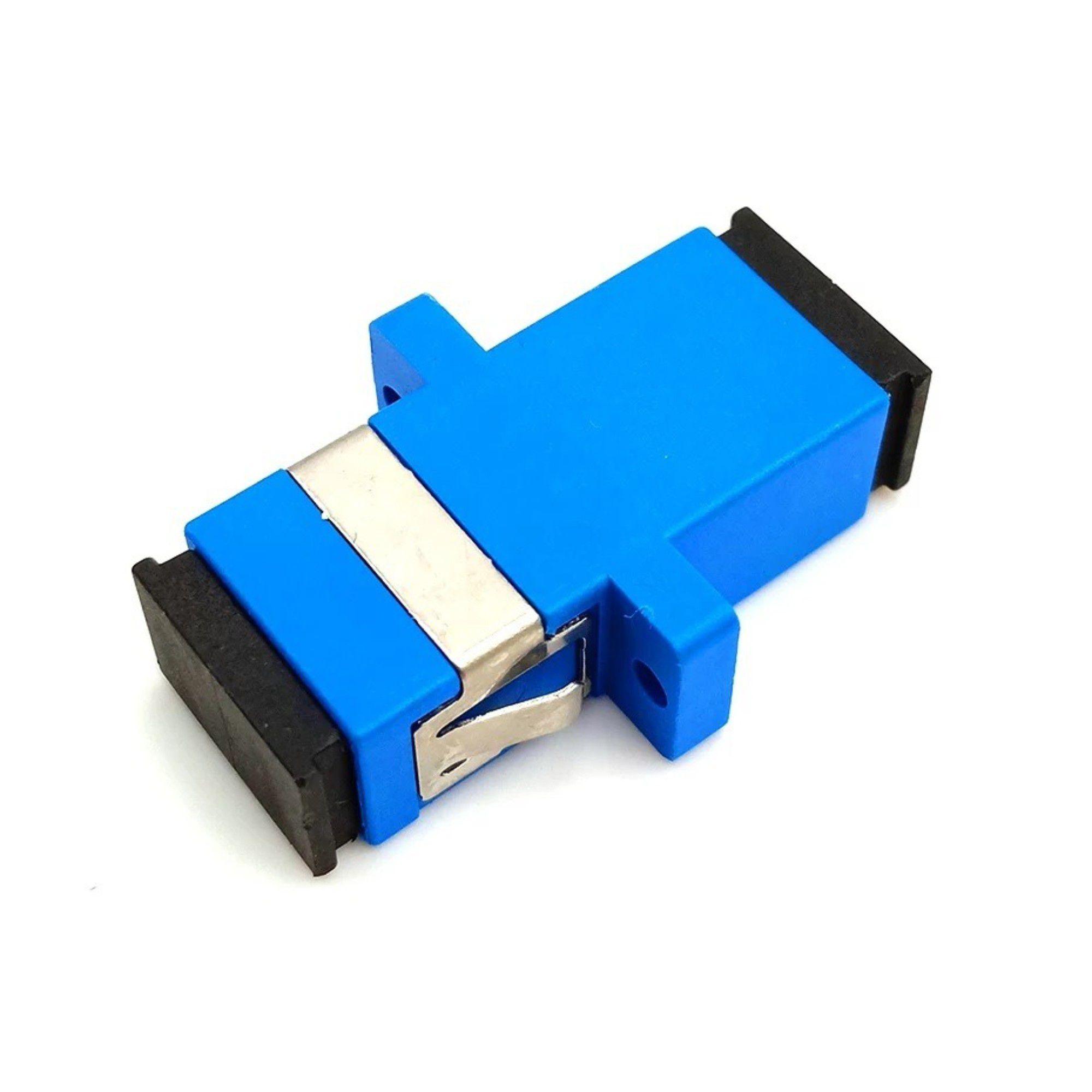 Adaptador Óptico P/ Fibra Sc-Upc C/ 10 Unidades