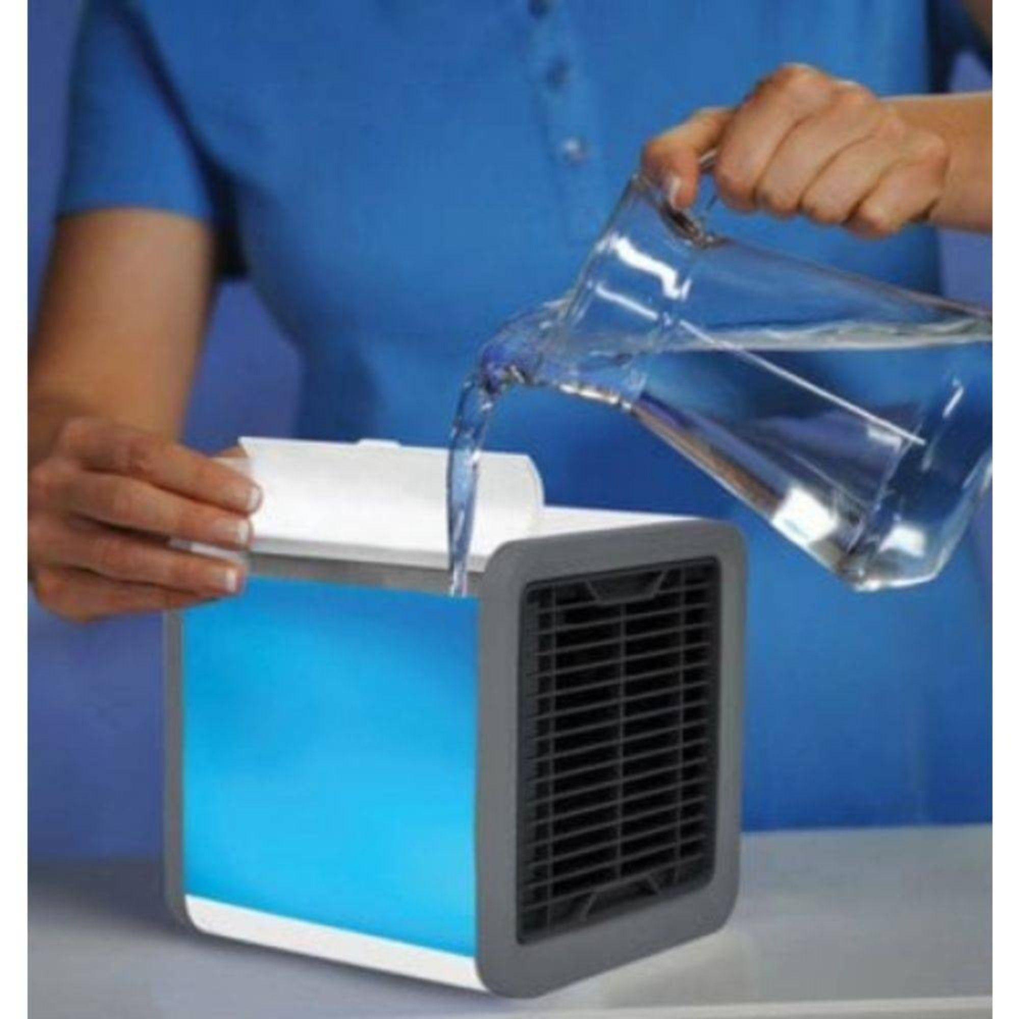 Mini Umidificador Climatizador Ar Condicionado Portátil USB