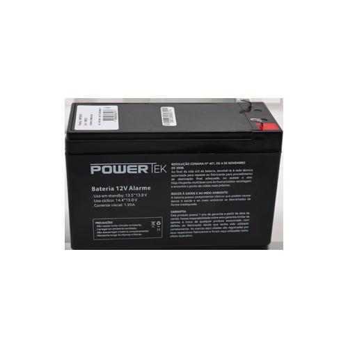 Bateria 12v 7Ah Secpower P/ Alarme Cerca e Nobreak