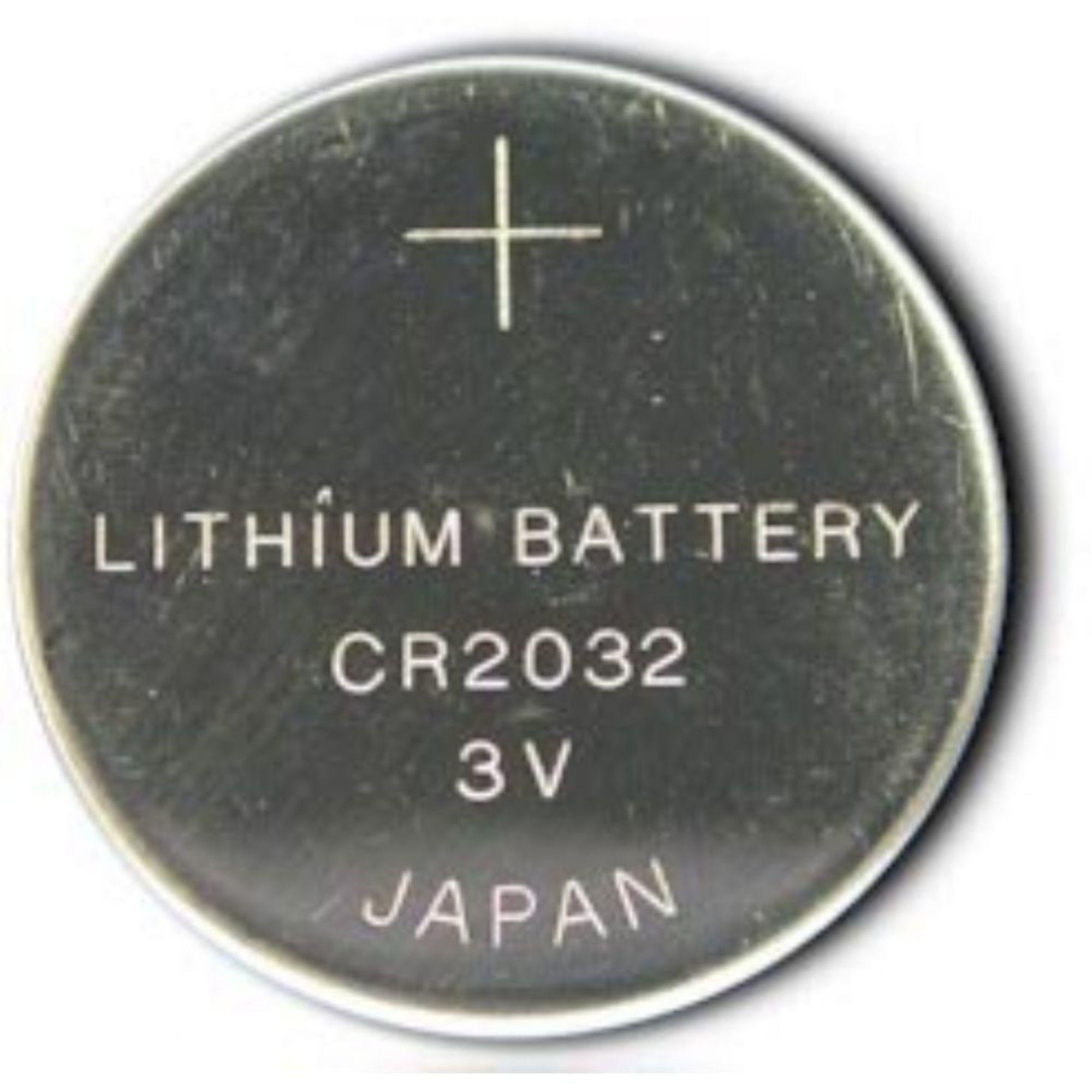 Bateria CR2032 P/ Controle Remoto e Placa Mãe C/ 2 Unidades