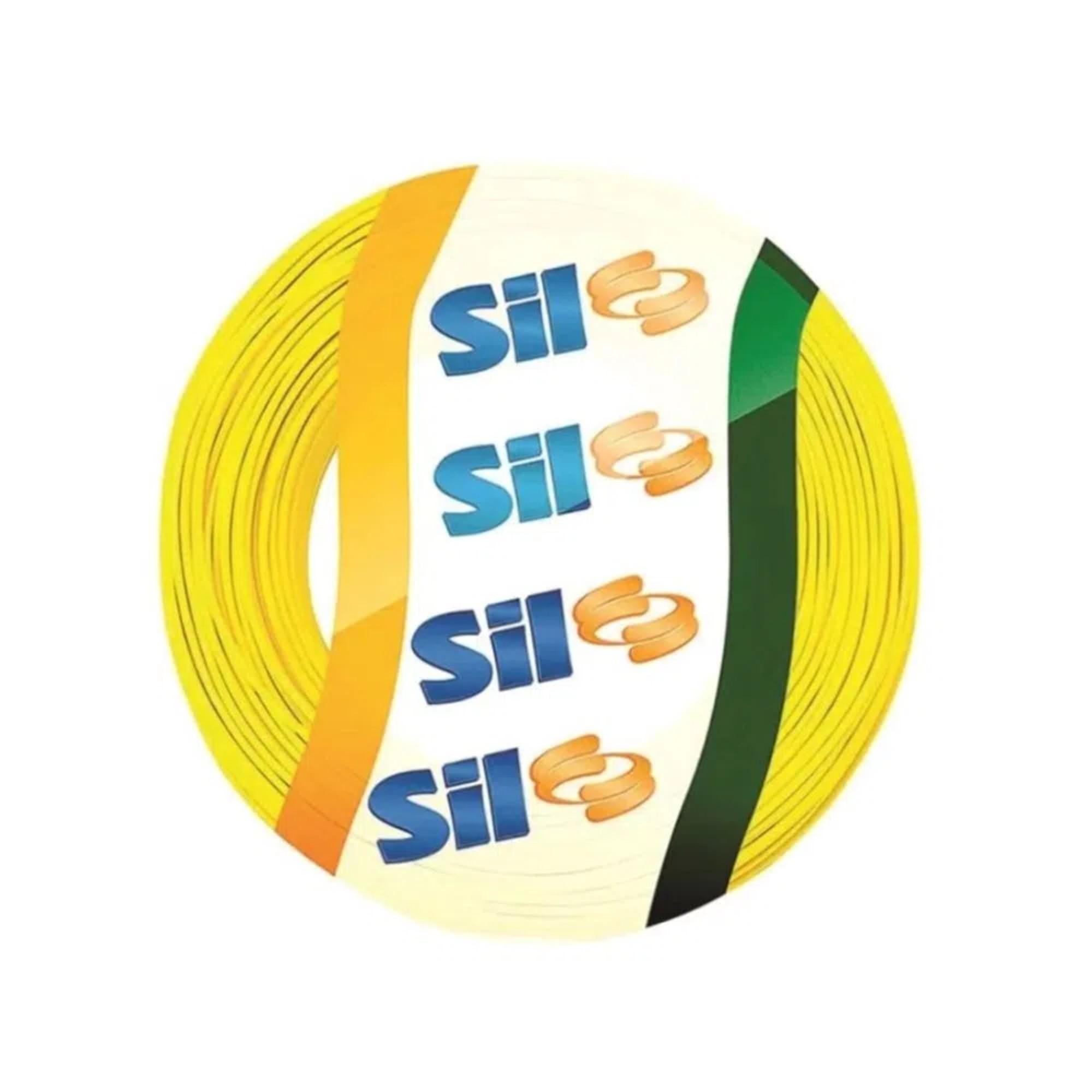 Cabo Flexível 1,5mm 750v Amarelo 100m Sil