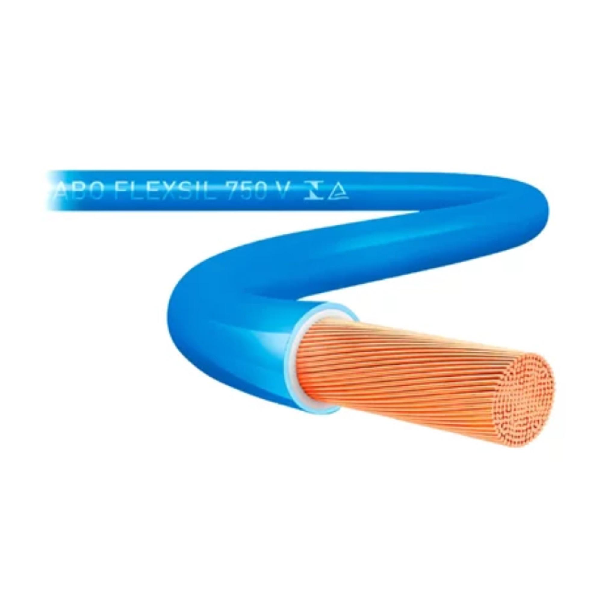 Cabo Flexível 2,5mm 750v Azul 100m Sil