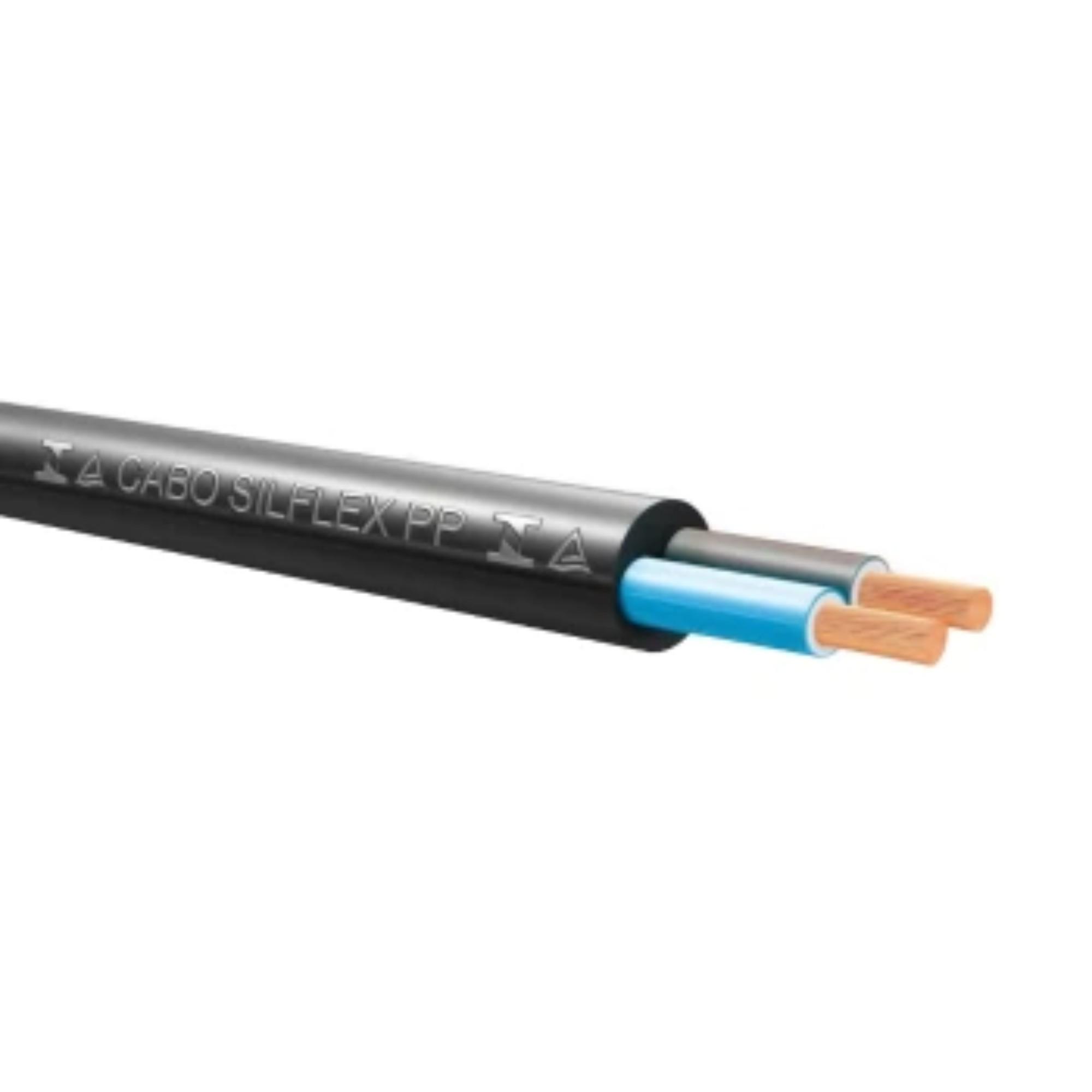 Cabo Flexível PP 2x1,5mm 550v 10m Preto