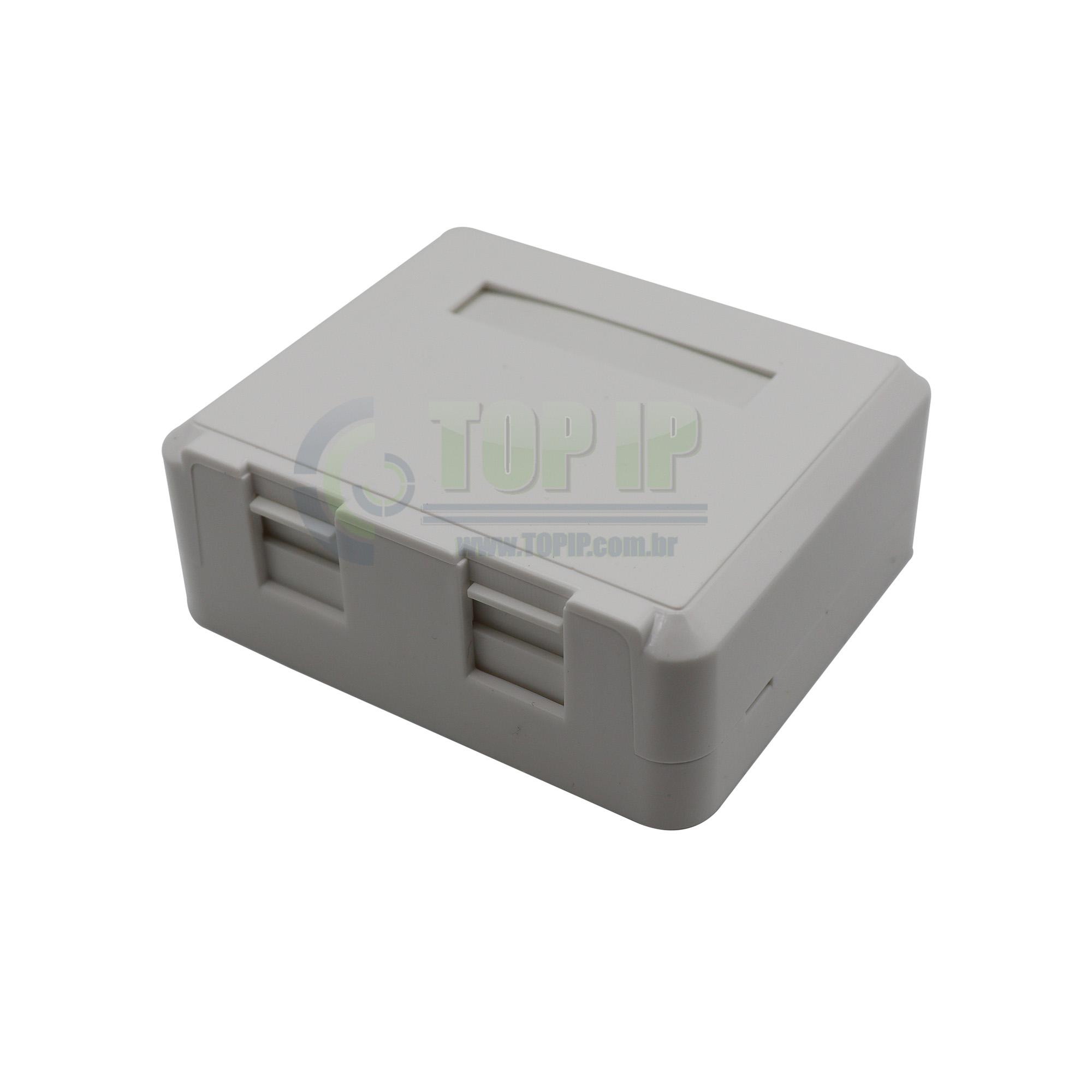 Caixa de Sobrepor para 2 keystones