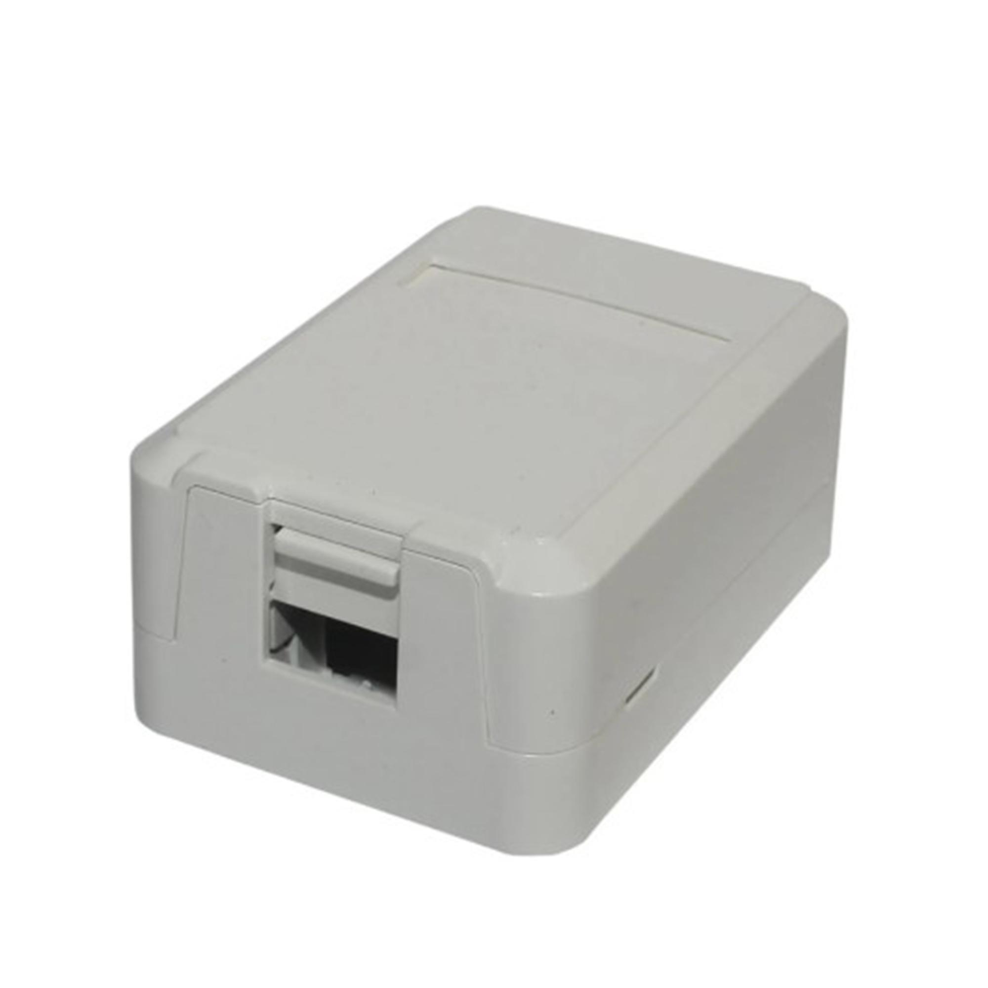 Caixa De Superfície 01 Porta Keystone RJ11/RJ45