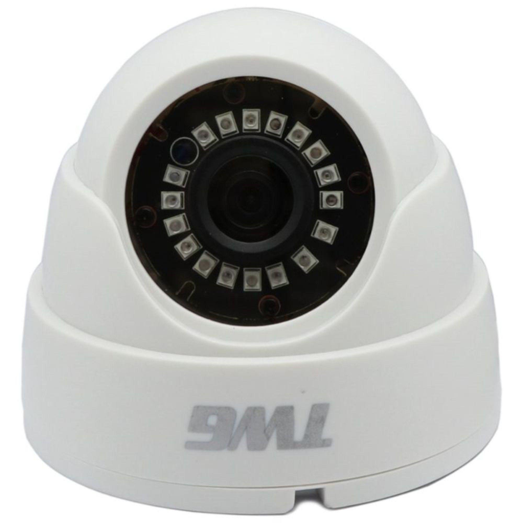 Câmera Dome 1080p 2mp 1/3 2.8mm TWG