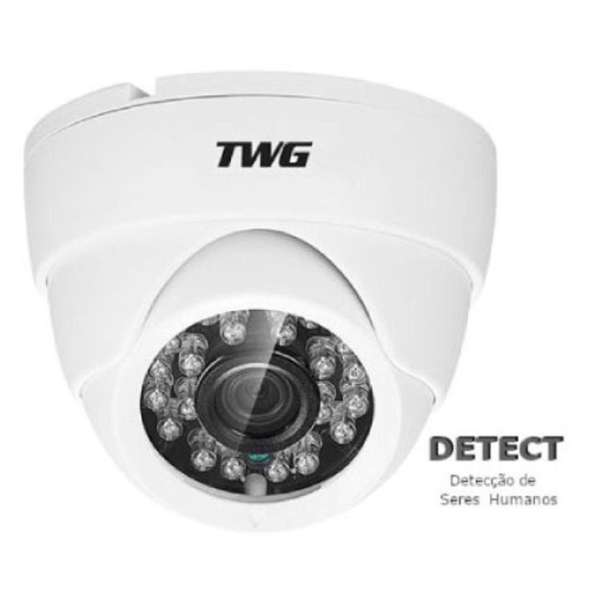 Câmera Dome 720p 1mp 1/4 2.8mm TWG