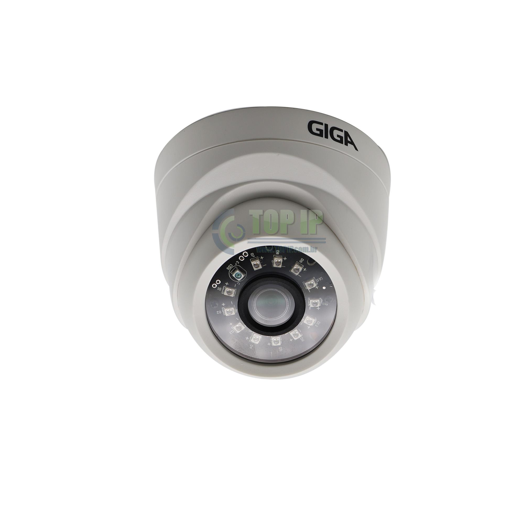 Câmera Dome Orion 720p 2,6mm GS0019 Giga Security