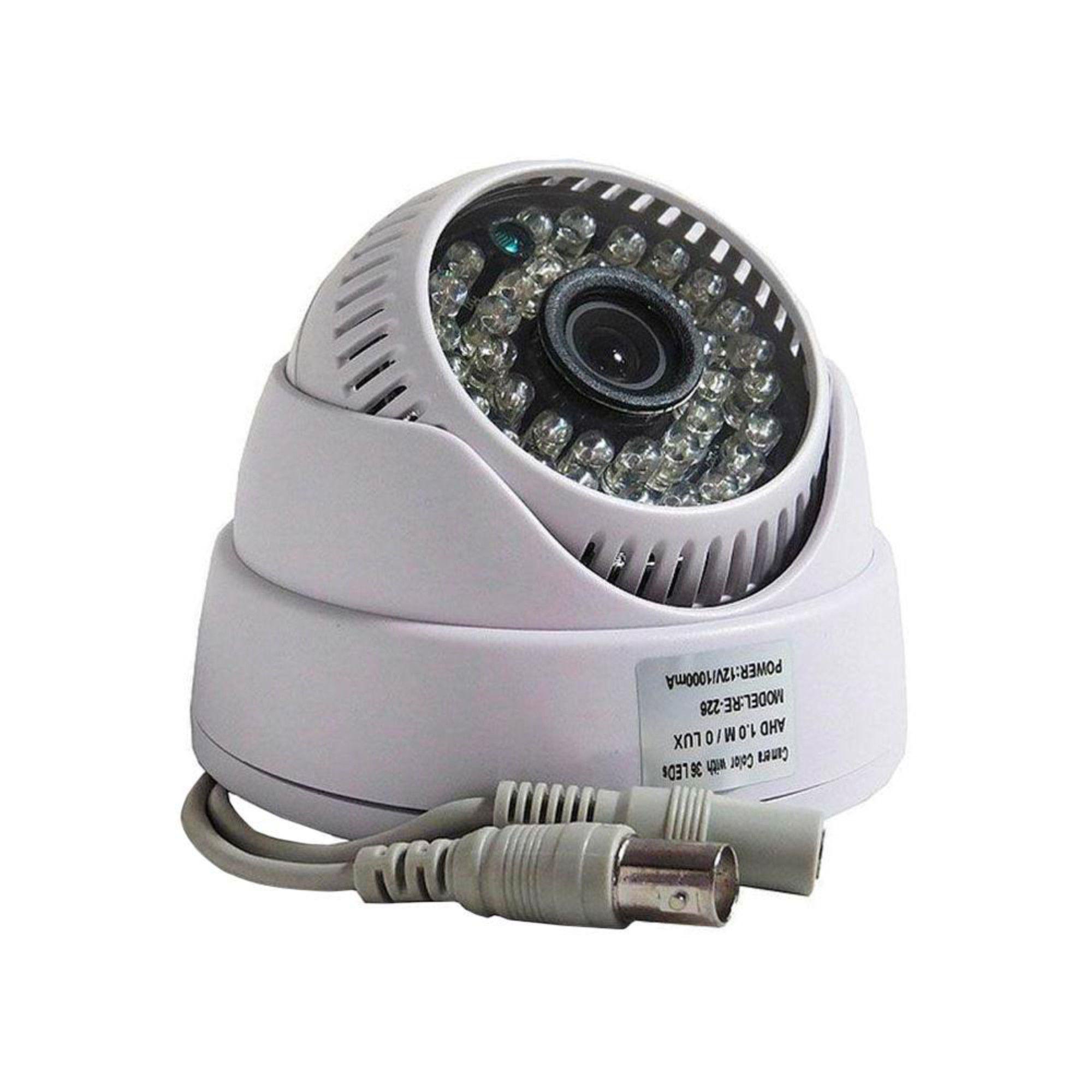 Câmera Infra Dome AHD 720p 3.6mm Jortan