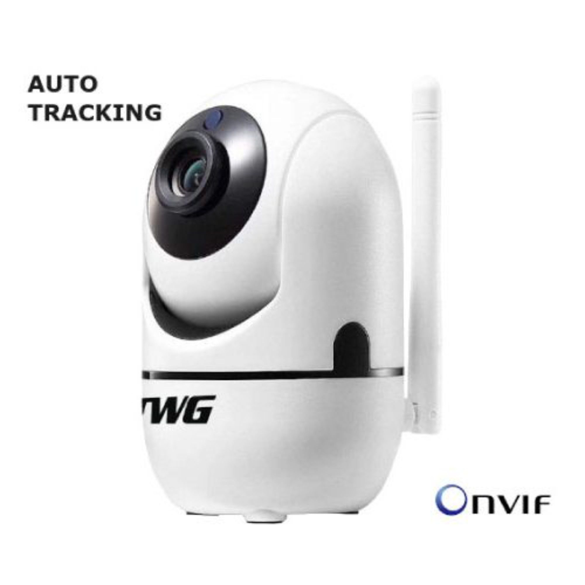 Câmera Inteligente Robô Wifi Onvif C/ Auto Tracking 720p 1mp TWG